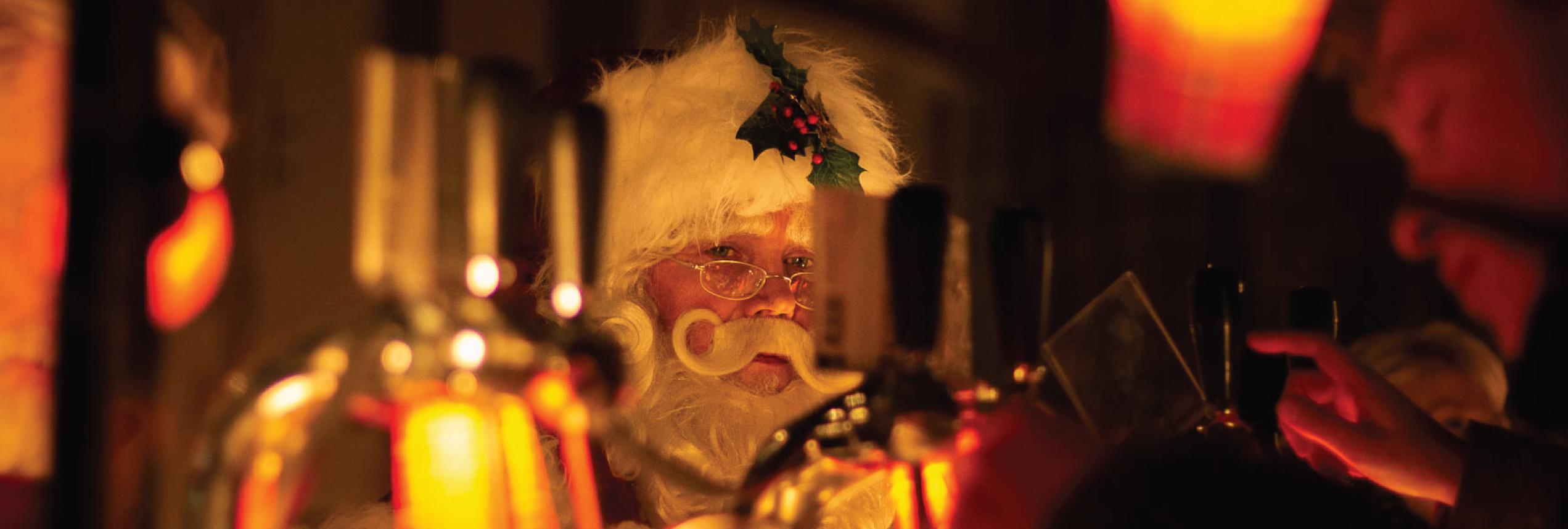 kerstman kerstmarkt Groningen